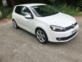 2011 Volkswagen Golf 2.0 Gt Tdi 3 Door White