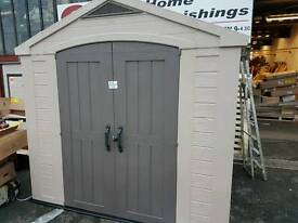 8x8 keter plastic shed