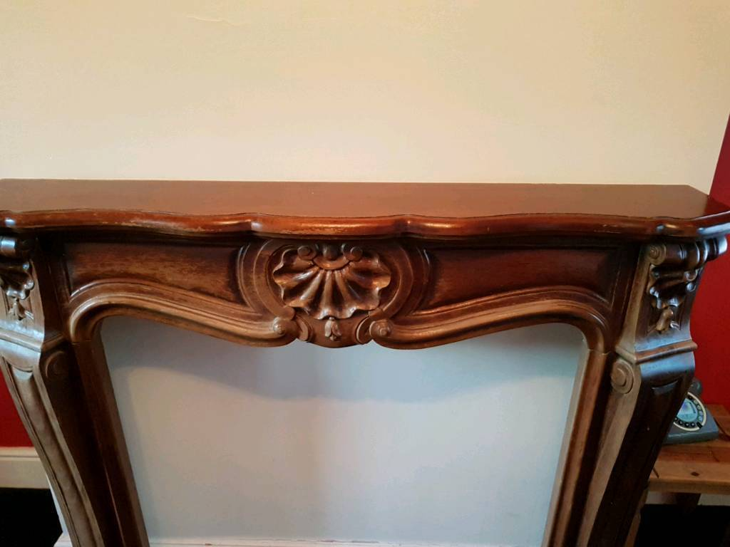 Fire solid wood surround