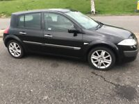 Renault Megane 2005, 75k mileage, MOT'D, Taxed, FSH