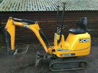 JCB 8008CTS Micro Digger 850 Hours 2012