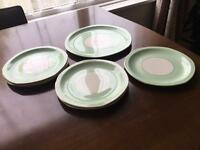 Salad plates and serving olates