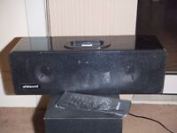 Orbitsound T9 Sound Bar with Subwoofer and Iphone / Ipod Dock