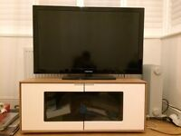 Alphason TV Stand - Oak and White