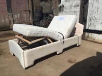 Oak Tree Mobility 3ft Single Bed With Memory Foam Mattress