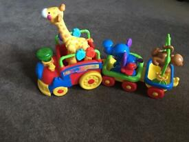 Fisher Price musical animal train