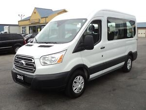 2015 Ford Transit Connect T150 XLT MedRoof 8 Pass
