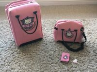 Hello Kitty Travel Case, Overnight Bag and Matching Purse & Keyring (very good condition)