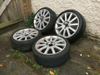 "Ford Fiesta,Focus,escort,puma 17"" st alloys,£200"