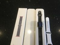 Apple i watch 38mm sports edition boxed etc extra new straps included. Great gift