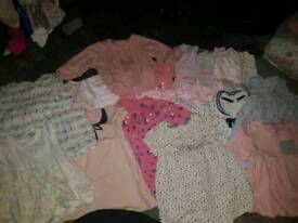 First size to 3months old baby girls clothes