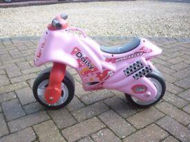 Toys R Us Pink Daisy Balance Bike