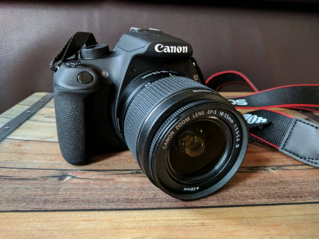 Cannon EOS 1200D with dual Lens