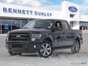 2014 Ford F-150 FX4-CREW-SB-MOON ROOF-LUXURY PKG
