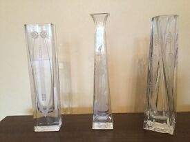 Rennie MacIntosh vases x3