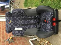 Baby car seat from birth up to 4 years, not isofix