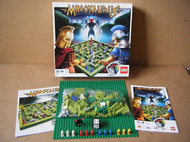 Lego (MINOTAURUS) board game 3841. Complete in excellent condition.