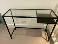 Glass desk / table
