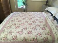 Single bed throw