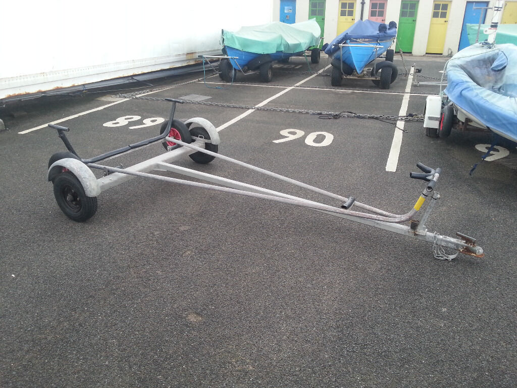 Combi Trailer Trolley For Laser Dinghy In Craigentinny