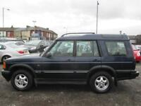 LAND ROVER DISCOVERY 2.5 Td5 ES 7 seat 5dr (blue) 2000