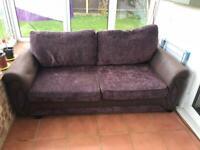 3 seater DFS sofa free