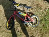 Kiddie second bicycle