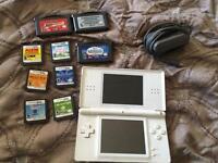 White Nintendo DS