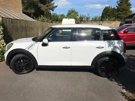 White Mini Countryman One 2012 Salt Pack. Must see!!