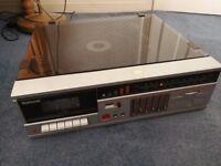 National Turntable with Equalizer, Cassette,FM/AM + Bundle of Misc Solid Gold Vinyls