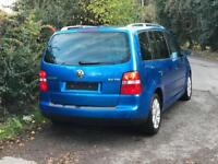 VW TOURAN 2005 1.9 TDI 7 SEATER