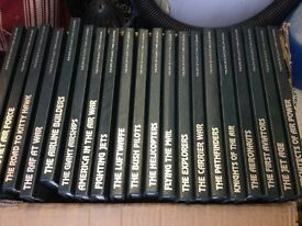 Collection of 20 Books all on Aircraft good condition.