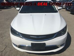 2015 Chrysler 200 Limited**BACK-UP CAM**HEATED SEATS/STEERING**