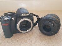 Nikon D3100, lens and accessories- excellent condition