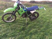 Kawasaki kmx 125 200 2002 road legal learner bike may px swap kx dtr ktm