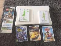 Wii fit board and games bundle