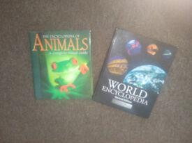 Animal & World Encyclopedia books