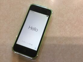 iPhone 5c 8gb green