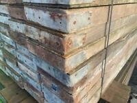 Used scaffold board ideals for making furniture or shelves