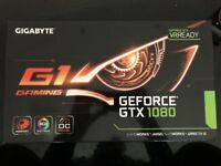 Nvidia Gigabyte GeForce GTX 1080 G1 Gaming 8GB Graphic Card NEW BOX SEALED