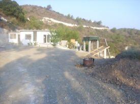 Scenic mountain property in Asgata, Cyprus
