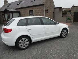 *** AUDI A3 1.6TDI SE SPORTBACK GREAT COND MOT APR 18 FSH CAR NEAR NEW BRAKES AND TYRES ALL ROUND