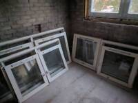 Wooden double glazing windows.