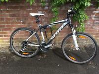 SCOTT ASPECT 50 : MOUNTAIN BIKE ALLOY TUBS ... SIZE 15'' 38cm : Front Suspension. Tires 26x20