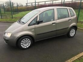 Superb Fiat Idea 1.3 Diesel Very Low Mileage 69000!