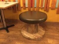Cable Reel Stools £50 For 2