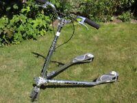 Trikke 6 'Carving vehicle' 3 wheeled scooter
