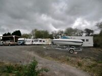 Caravan , Motor Home and Boat Secure Storage