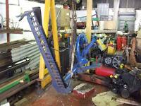 Fordson / Ransoms fingerbar mower
