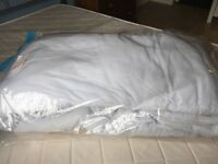 Hollowfibre double duvet- Sainsbury's. Used